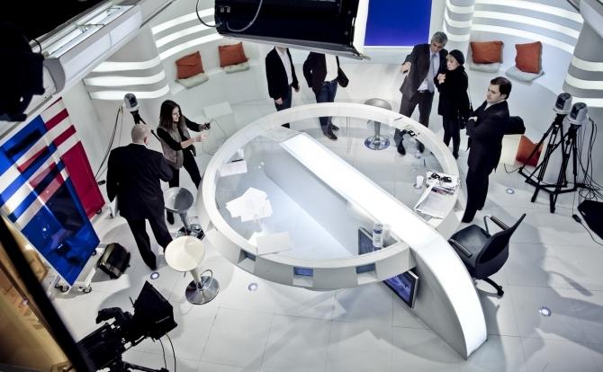 Studio TV disponible à la location